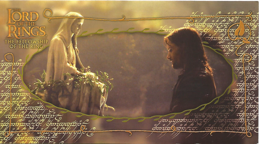 Lord of the Rings Postcard from Czech Republic