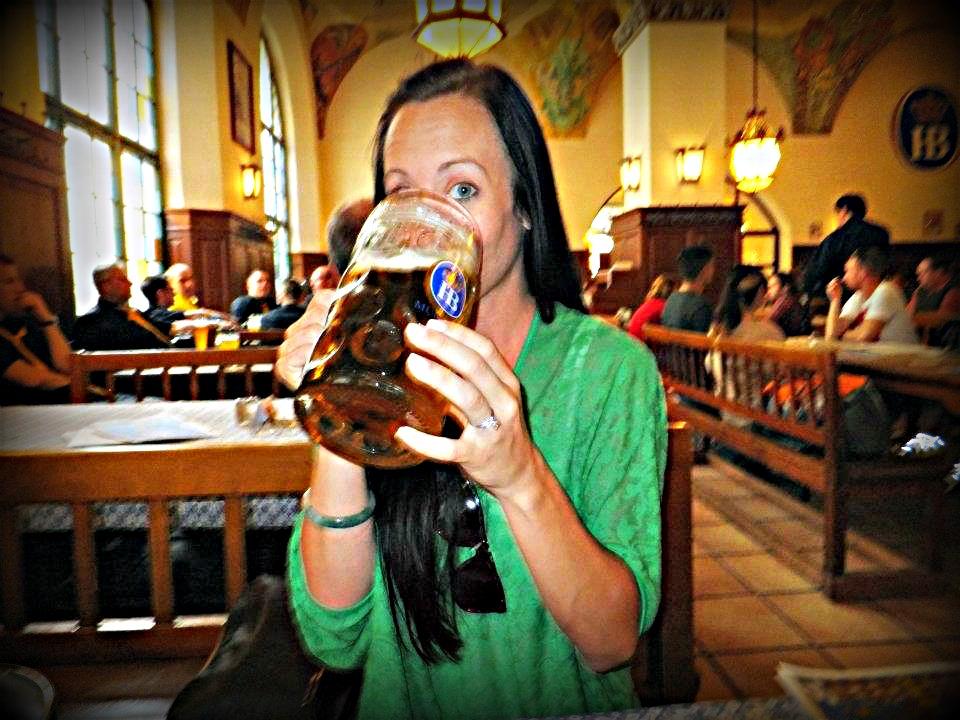 Beer at Hofbrauhaus