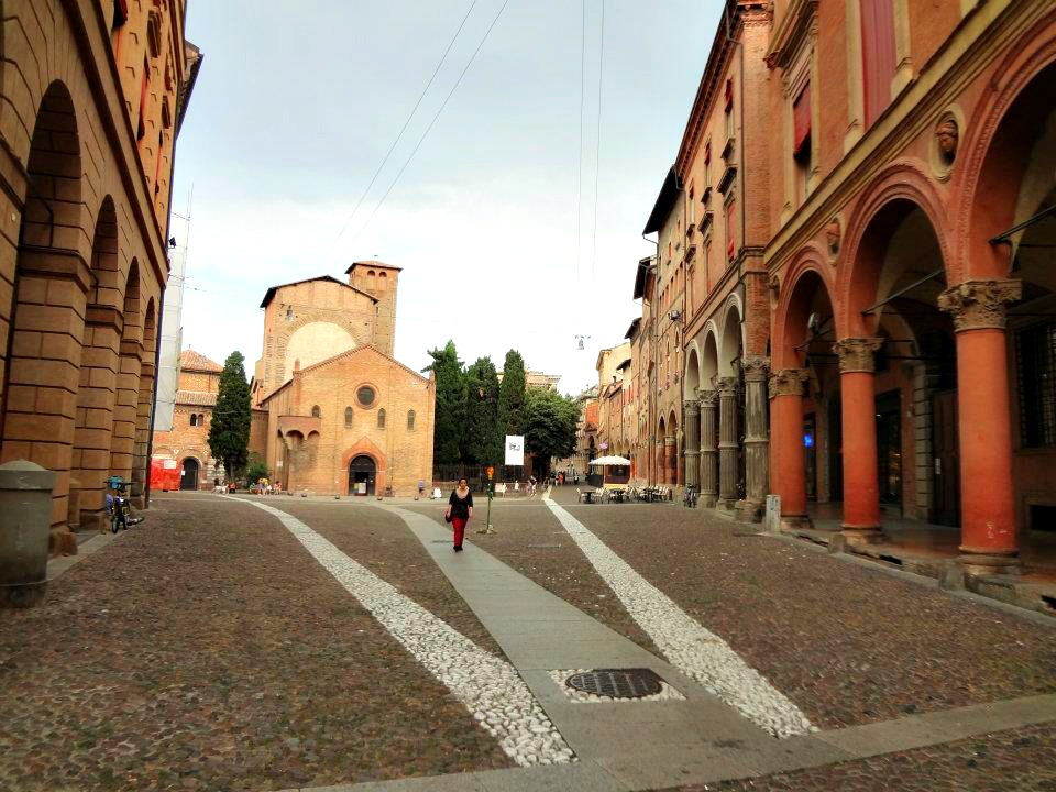 Streets of Bologna, Italy