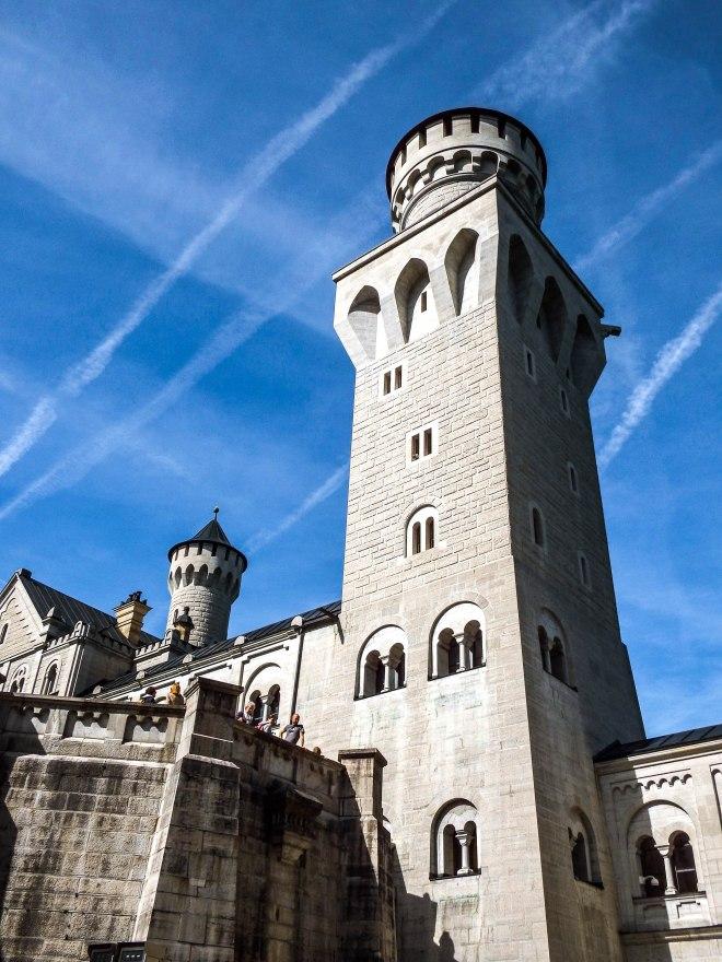 Tower at Neuschwanstein Castle