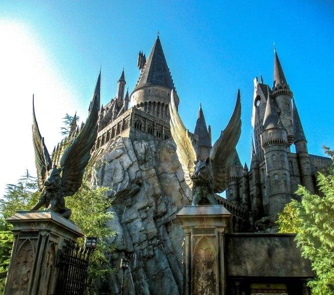 The entrance at Hogwarts Castle