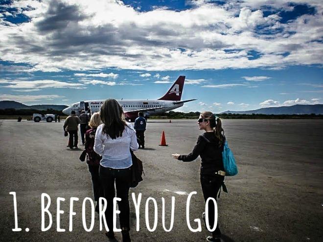 First trip abroad to venezuela