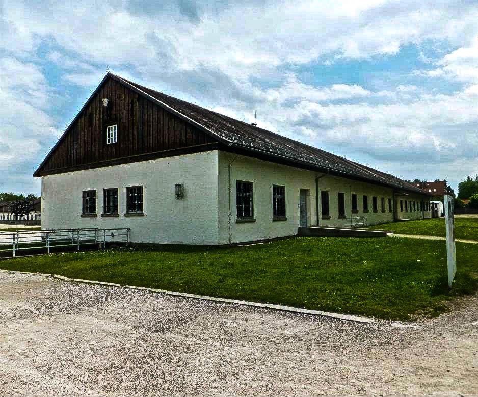 Dachau concentration camp barracks