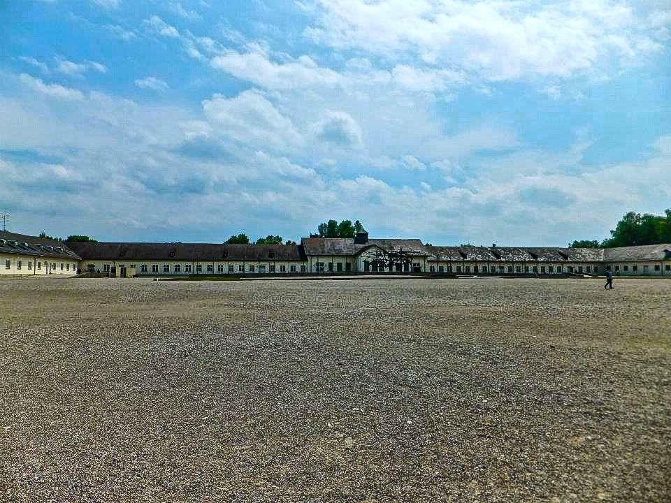Dachau main visitor center