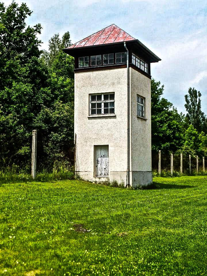 Dachau Concentration Camp watch tower