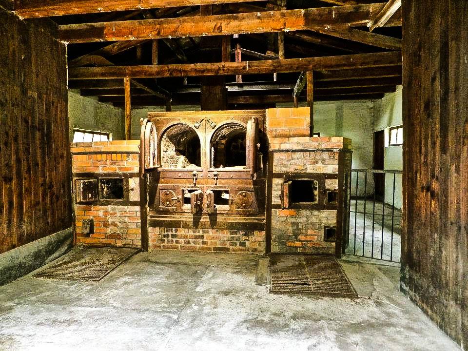 Dachau concentration camp crematorium