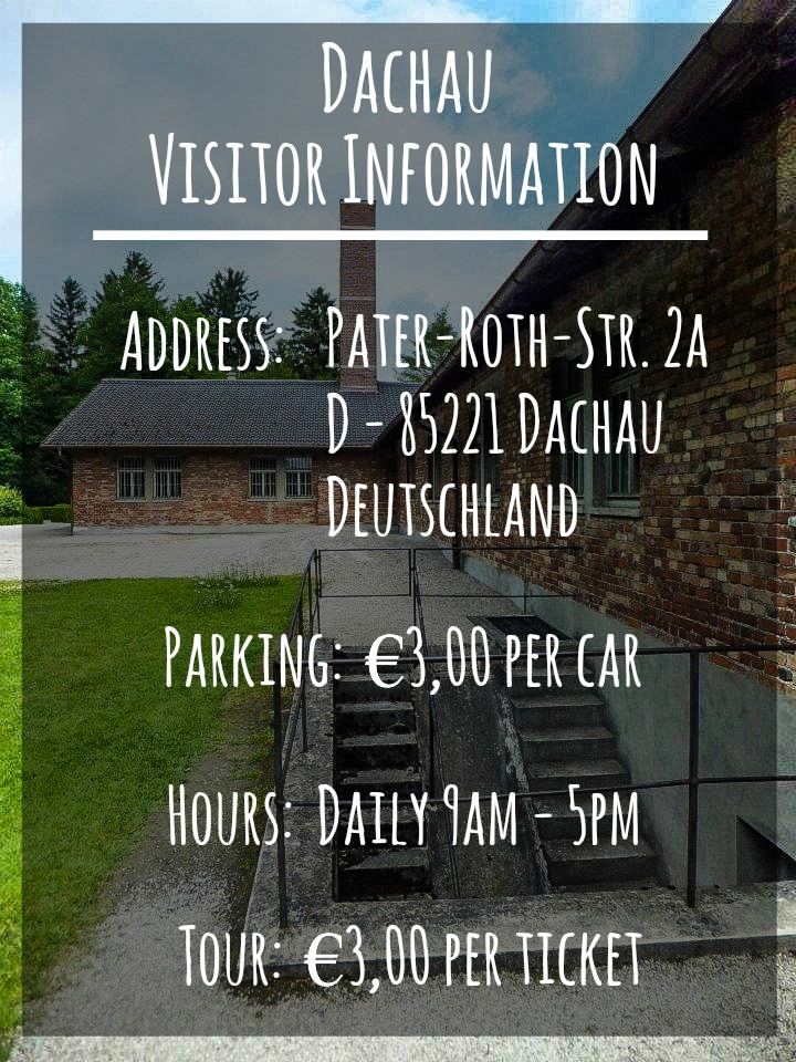 Dachau concentration camp visitor information