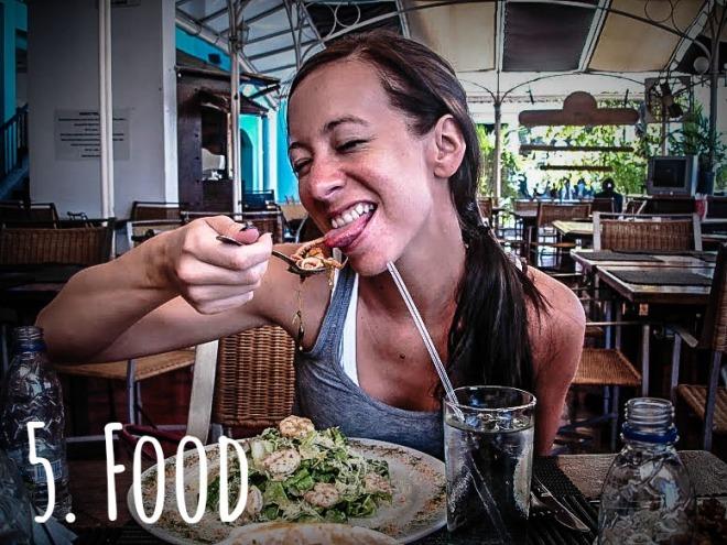 Eating in Venezuela