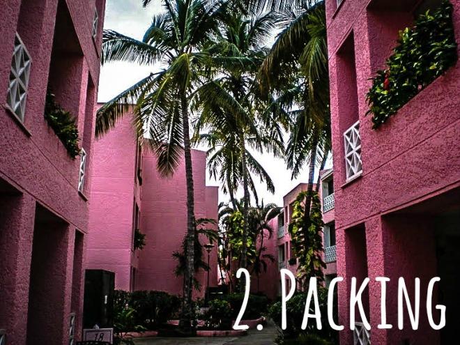 Pink Hotel MareMares in Puerto la Cruz, Venezuela