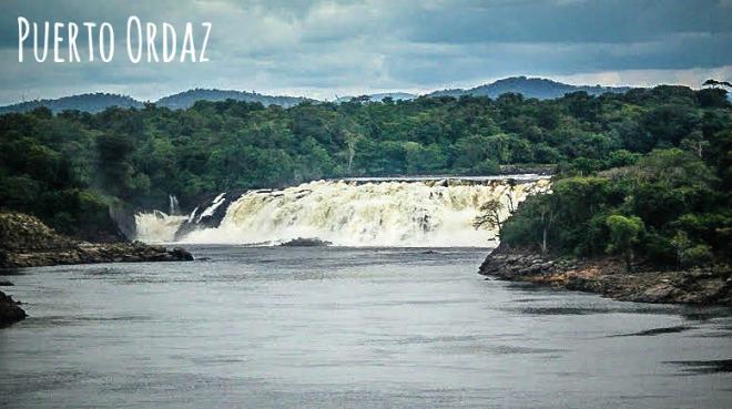 Puerto Ordaz Venezuela Waterfall