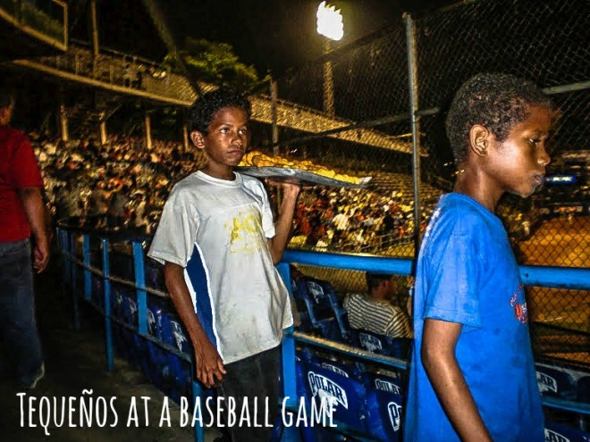 Tequeños at Venezuelan Baseball Hame
